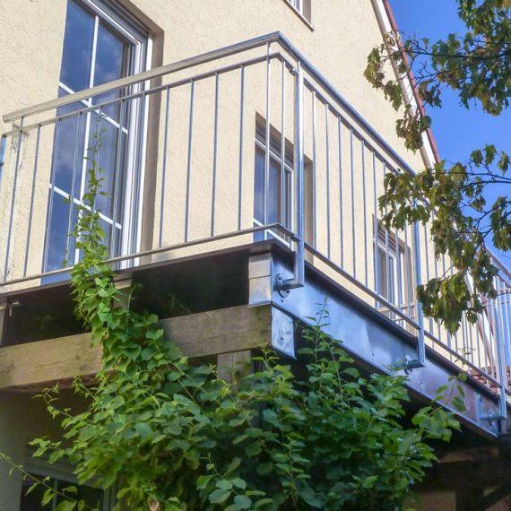 Balkon Edelstahl
