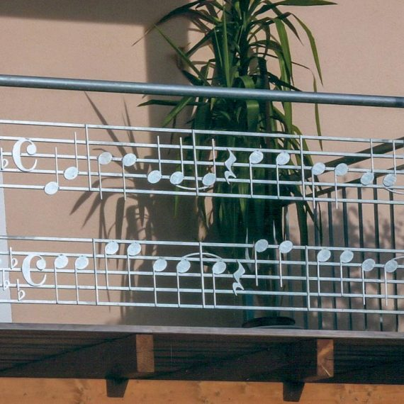 Balkon Unser oide Kath