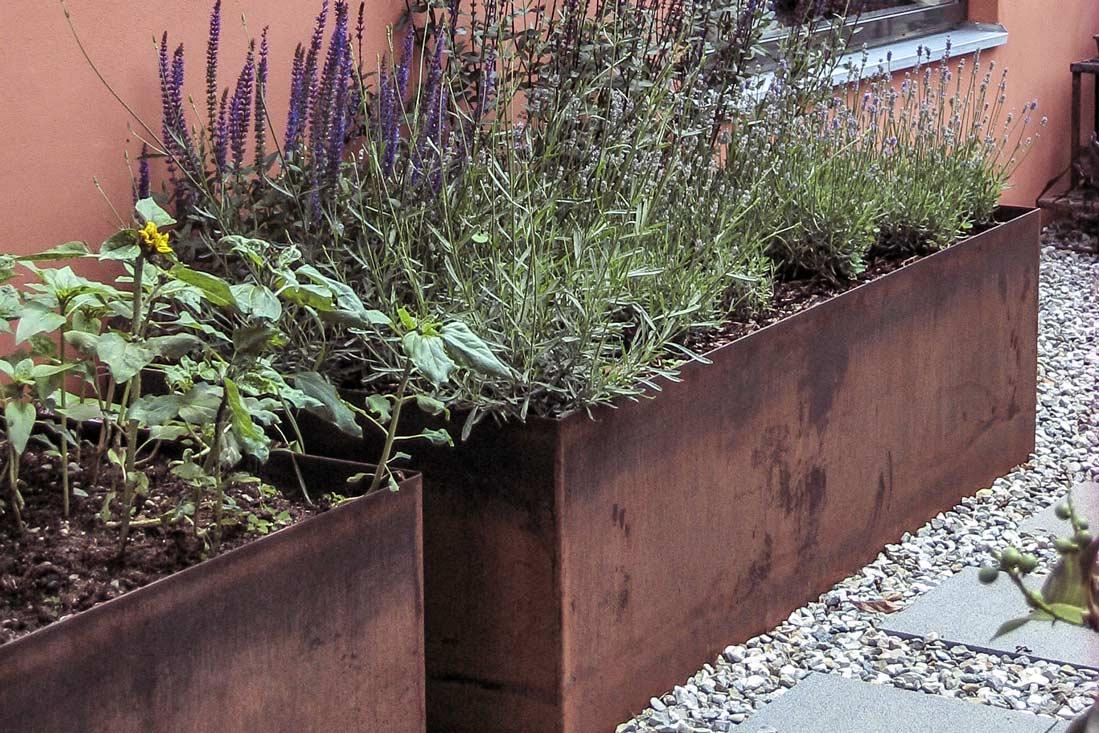 Gartenobjekte Fur Denimposanten Lichtblick Dasch Metalldesign