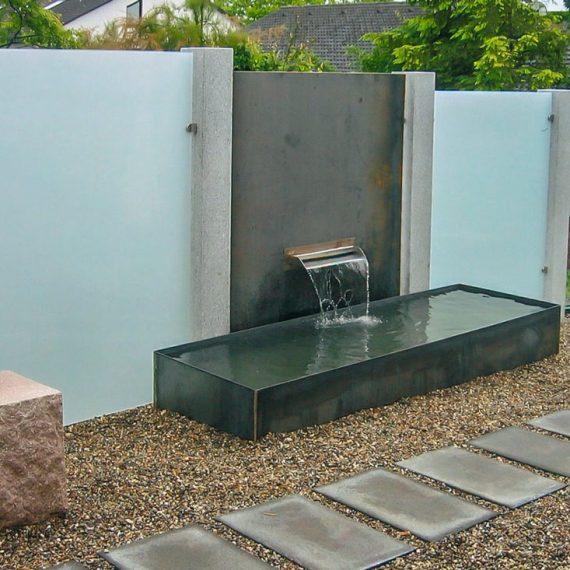 Sichtschutz Wasserschütte