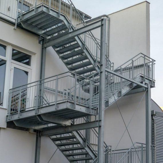 Fluchttreppe