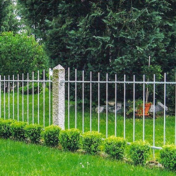 Gartenzaun Segmentbogen